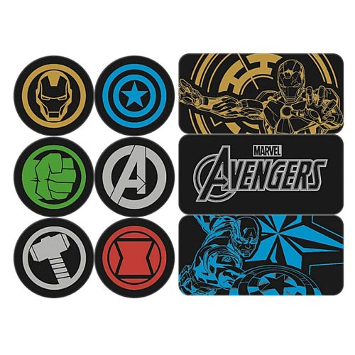 Marvel Avengers Team Fridge Magnets Set of 9